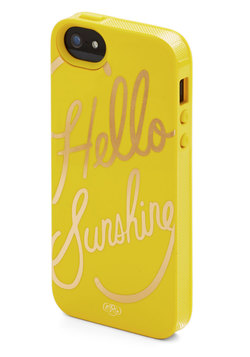 Gleeful Greeting iPhone 5/5S Case