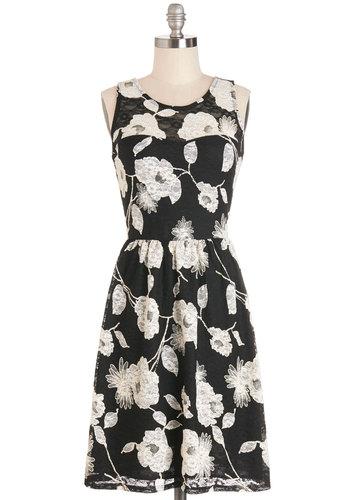 In Graceful Swing Dress