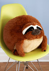 Plush One Pillow in Sloth