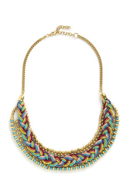 Bright and Braided Necklace