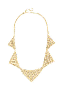 Angular Accent Necklace