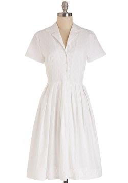 Mod of Approval Dress in Cloud