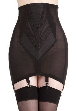 Polished Appearance Garter Skirt