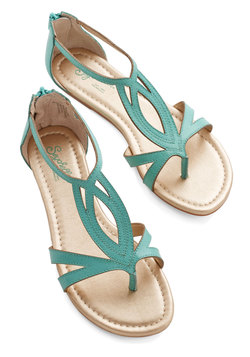 Concentrate Sandal in Emerald