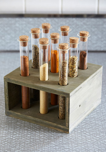 Breaking Bland Spice Rack - Multi, Rustic, Nifty Nerd, Better, Hostess, Scholastic/Collegiate