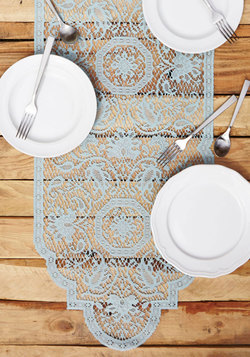 A Lace for Everyone Table Runner