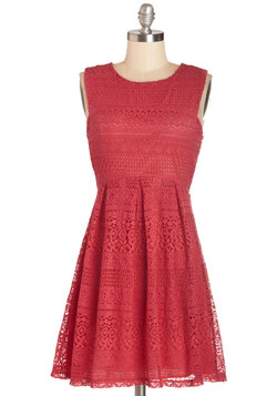 Extraordinary Raspberry Dress