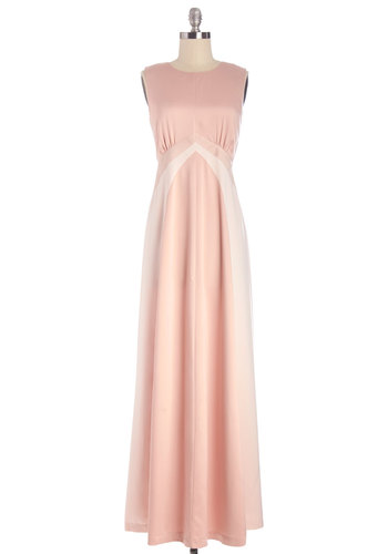 Luxurious Life Dress - Long, Satin, Woven, Pink, Solid, Special Occasion, Wedding, Bridesmaid, Maxi, Sleeveless, Better, Crew, Exclusives, Show On Featured Sale