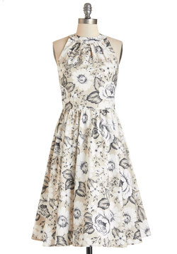 Pros and Congrats Dress in Beige