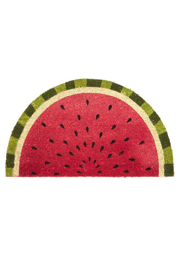 The Bright Slice of Life Doormat - Food, Americana, Better, Red, Green, Fruits