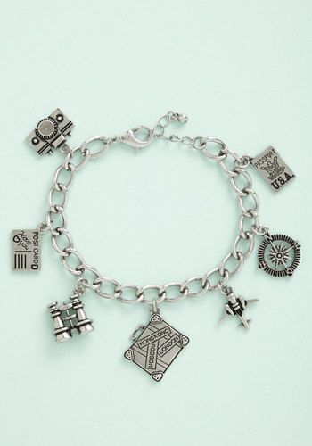 Cruise Companion Bracelet - Solid, Americana, Charm, Silver, Exclusives