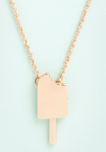 Just Treat You Up Necklace - Solid, Americana, Spring, Summer, Gold, Exclusives