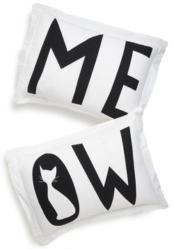 I Speak Cat Pillow Sham Set