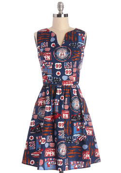 Set Out for the Sights Dress