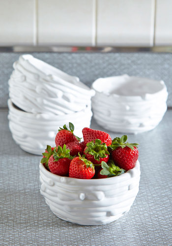Styled and Wonderful Bowl Set - White, Solid, Rustic, Good, Hostess, Social Placements