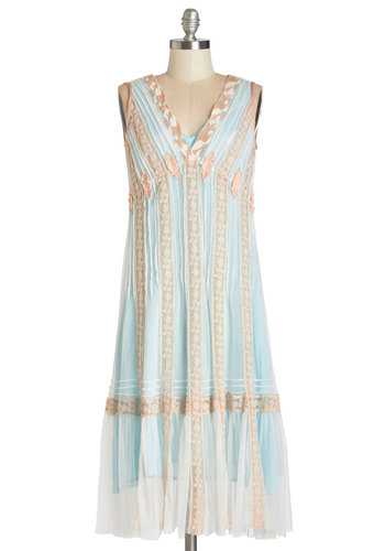 Ethereal Essence Dress in Blue Skies