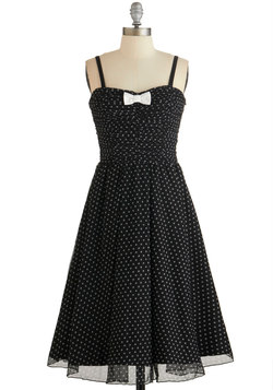 Laudable Dots Dress