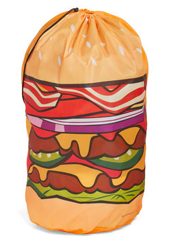 Hamburger Helpful Laundry Bag