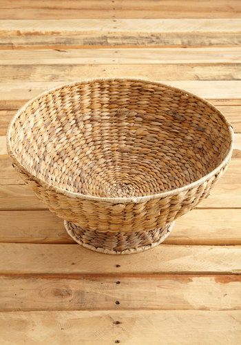 Vintage Basket in the Sun Bowl