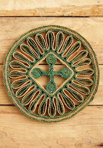 Vintage Got It Down Pat Trivet