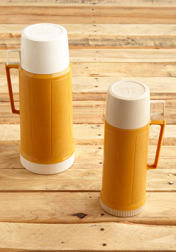 Vintage Camper's Content Thermos Bottle Set