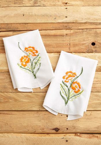 Vintage Backyard Brunch Napkins