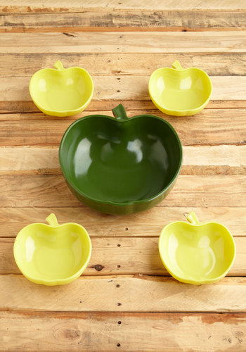 Vintage Apple of My Pie Bowl Set