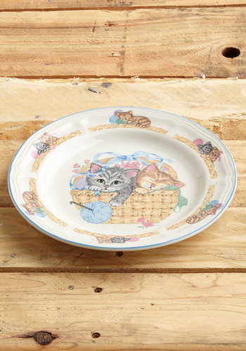 Vintage Couldn't Basket for More Plate