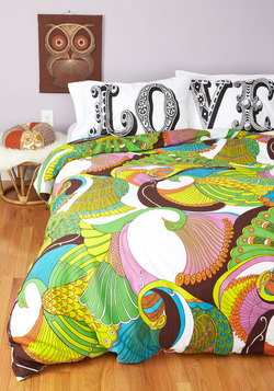 Radiant Reveries Duvet Cover in Full/Queen