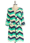 Believe It or Notorious Tunic in Chevron