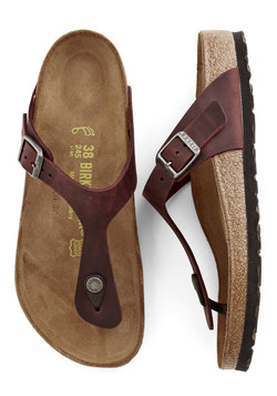 Garden Consultation Sandal in Wine