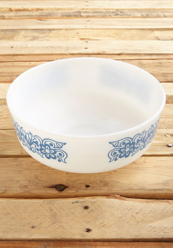 Vintage Gourmet as Well Bowl