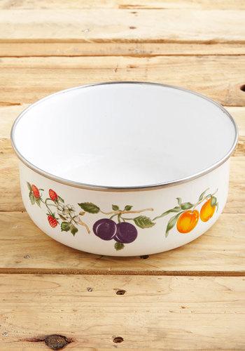 Vintage Picnic Spread Bowl