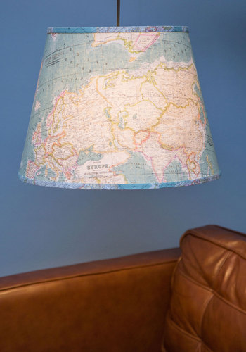 Light Up the World Pendant Lamp - Woven, Multi, Travel, Best, Novelty Print, Graduation, Guys