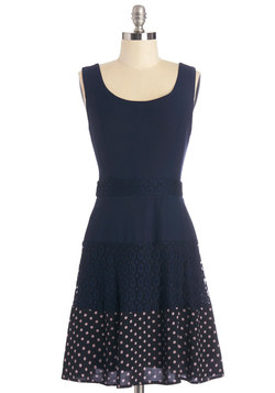 Navy Next Time Dress