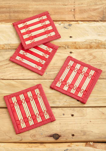 Vintage Time Spent Together Coasters