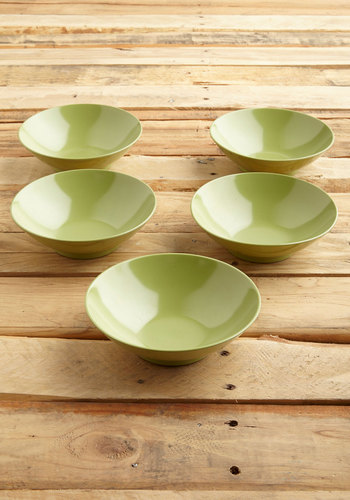 Vintage Salads and Lasses Bowl Set