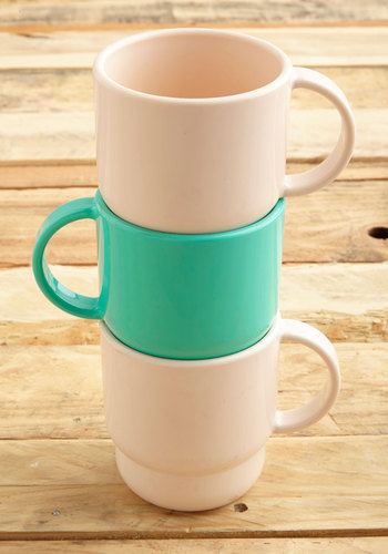 Vintage Morning Refreshments Mug Set