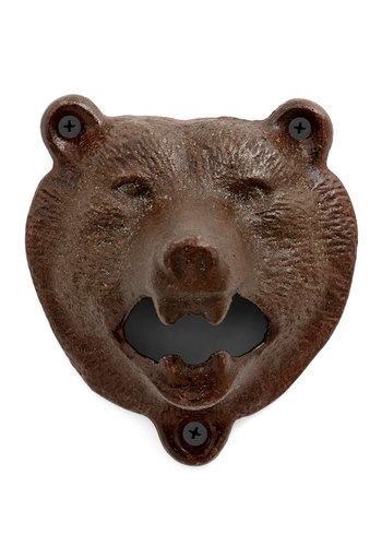 Bear Bottle Opener - Brown, Dorm Decor, Good, Guys, Top Rated, Critters, Woodland Creature
