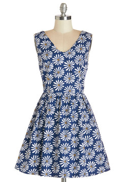 All Daisy Long Dress