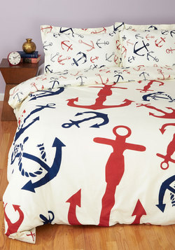 Snooze Anchor Duvet Cover in Twin/Twin XL