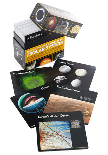 The Photographic Card Deck of the Solar System - Multi, Nifty Nerd, Cosmic, Good, Guys