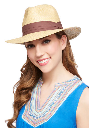 Friend of the Road Hat - Tan, Brown, Solid, Safari, Festival, Spring, Summer, Beach/Resort, Social Placements, Boho