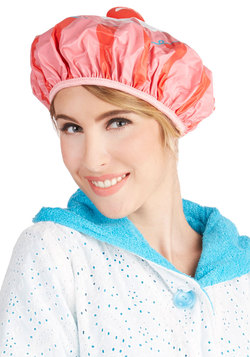 Singing Skills Shower Cap in Cupcake
