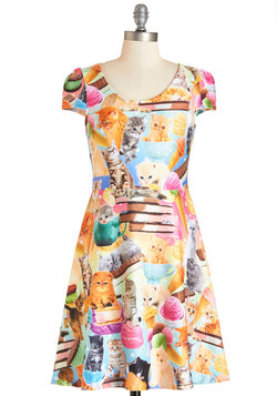 I Scream, Mew Scream Dress