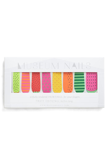 And Mani More Nail Sticker Set in Fruit - Multi, Casual, Fruits, Print, Variation