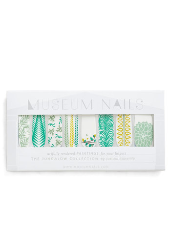 And Mani More Nail Sticker Set in Foliage - Green, Beach/Resort, Spring, Summer, Print, Variation
