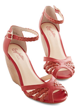 Like a Lady Wedge in Cherry