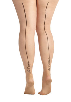 A Million Ways to Say It Tights in Plus Size