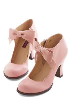 Saturday Strut Heel in Pink